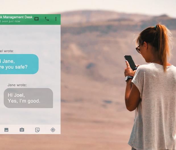 Chubb TravelSmart screen